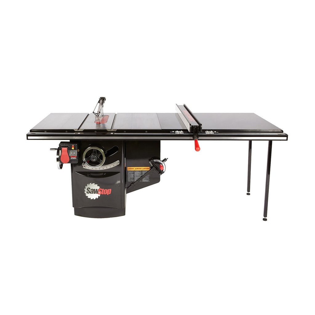 "SawStop 10"" Industrial Cabinet Saw 52"" Fence 3HP 1-Phase"