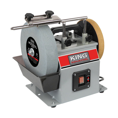 "King Industrial 10"" Wet/Dry Sharpening System"