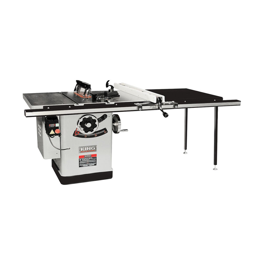 "King Industrial 10"" Extreme Cabinet Saw with 50"" Rip"