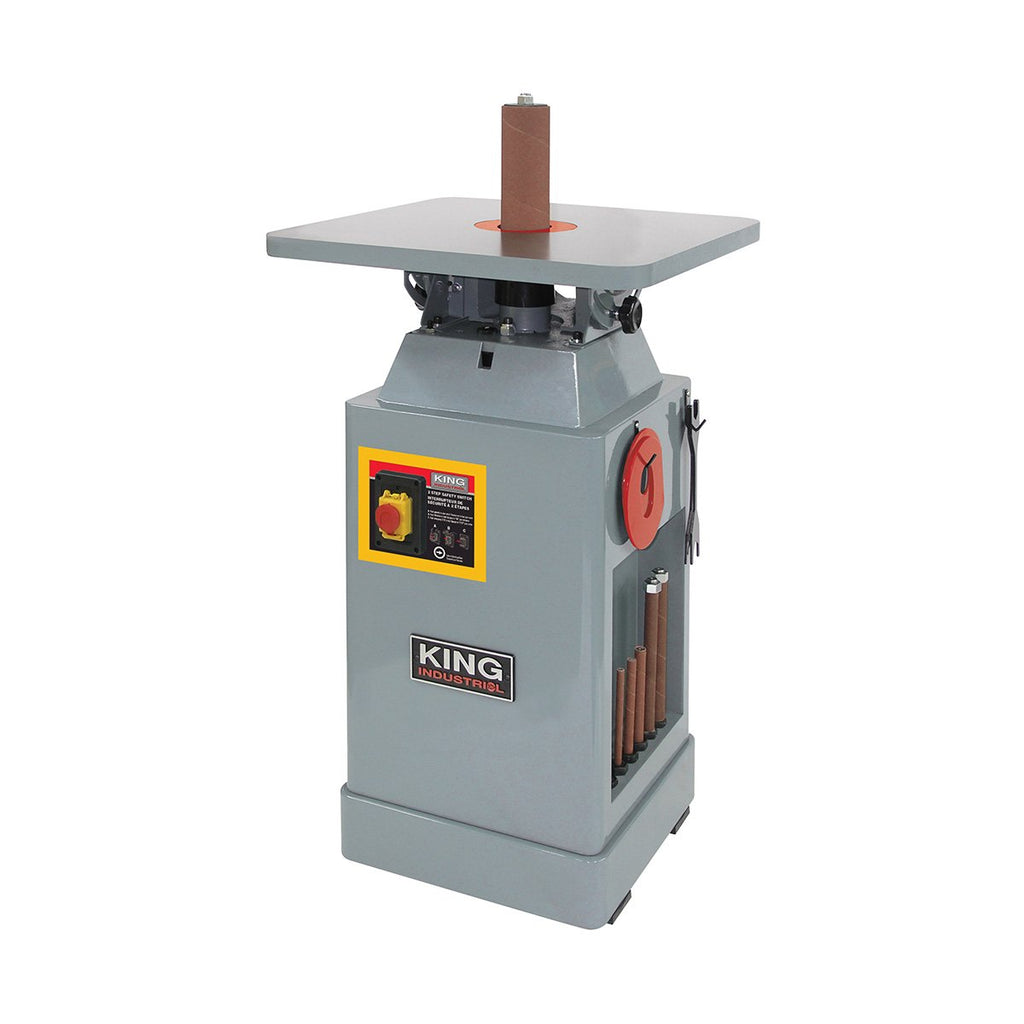King Industrial Oscillating Spindle Sander
