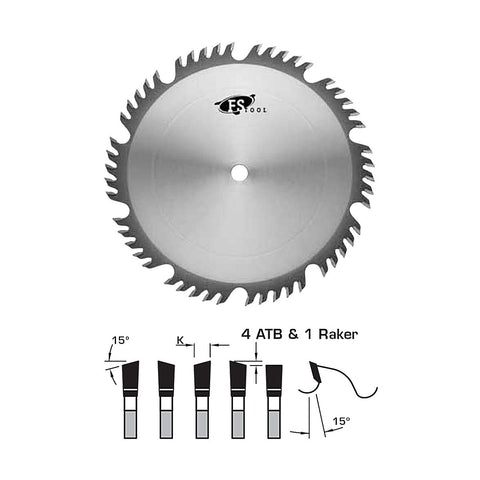 "FS Tool Combination Saw Blade 12"" 60 Tooth - 30mm Bore"