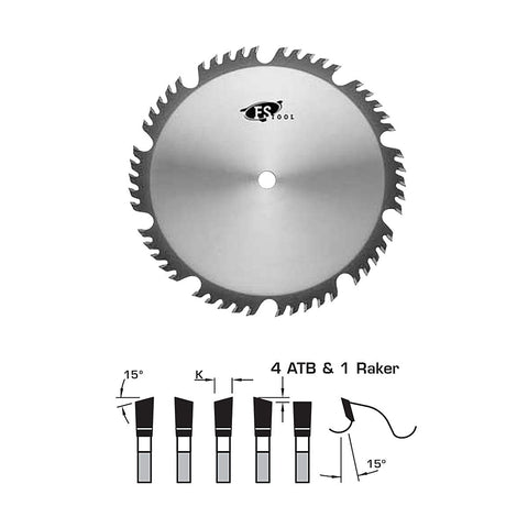 "FS Tool Combination Saw Blade 10"" 50 Tooth - 5/8"" Bore"