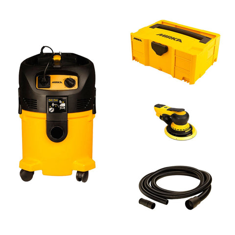 "Deros 6""/MV912 Dust Extractor Sanding Package"