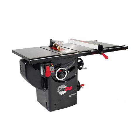 "SawStop 10"" Professional Cabinet Saw 30"" Fence 1.75HP 1-Phase"