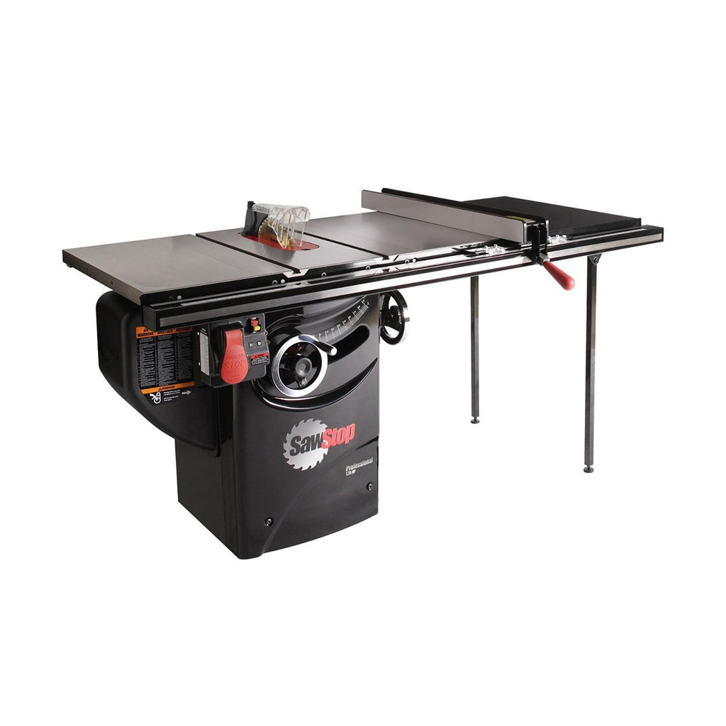 "SawStop 10"" Professional Cabinet Saw 36"" Fence 1.75HP 1-Phase"