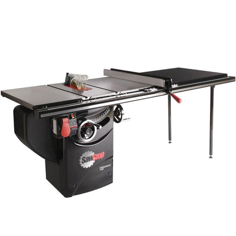 "SawStop 10"" Professional Cabinet Saw 52"" Fence 1.75HP 1-Phase"