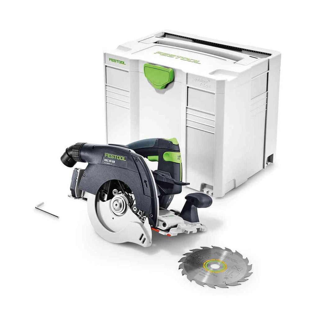 Festool Cordless Track Saw HKC 55 Li EB-F-Basic