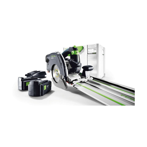 Festool HKC 55 EB Cordless Circular Saw Set