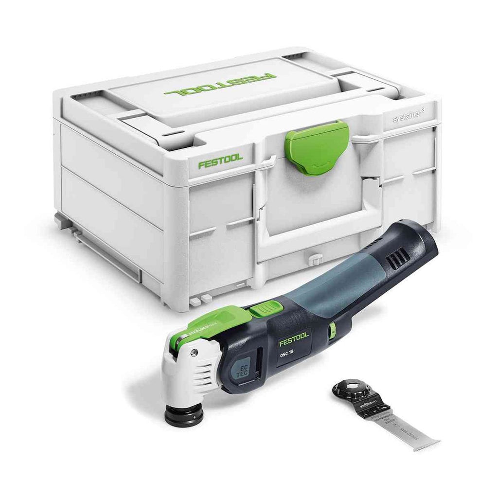 Festool Cordless Vecturo Multi-Tool OSC 18 E-Basic