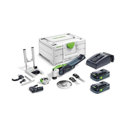 Festool Cordless Vecturo Multi-Tool OSC 18 HPC 4.0 EI-Set