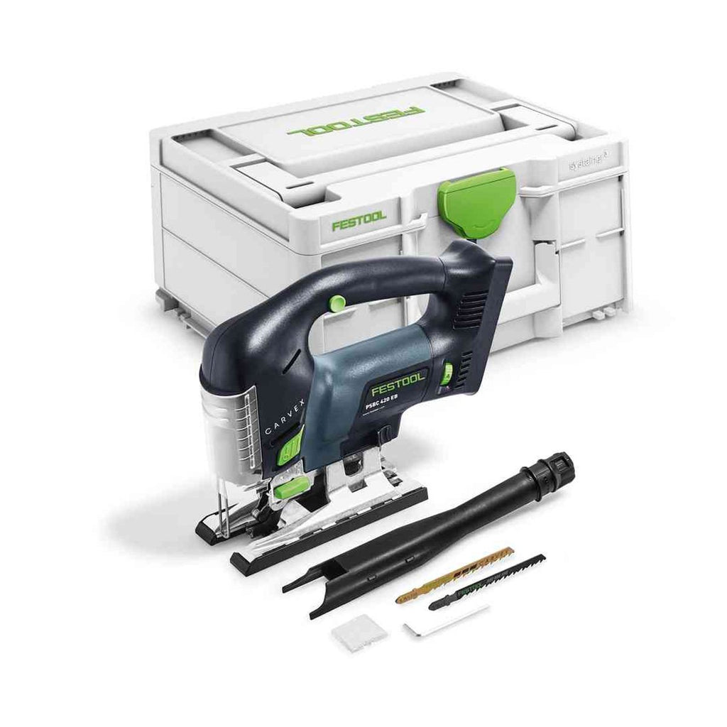 Festool Crdless Carvex Jigsaw PSBC 420 EB - Basic