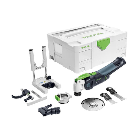 Festool Vecturo OSC 18 Cordless Oscillating Multi-Tool Li E-Basic Set