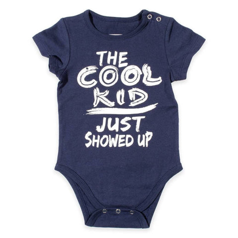 """The Cool Kid Just Showed Up"" Baby Crawler"
