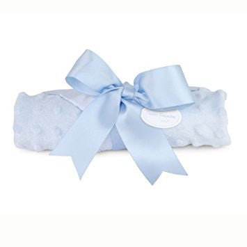Mud Pie Baby Boy Blue Woobie/Security Blanket
