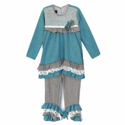 Isobella & Chloe Boutique Lollipops 2pc Outfit