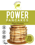 Blueberry Lucuma Power Pancakes