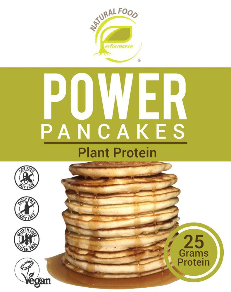 Plain Power Pancakes