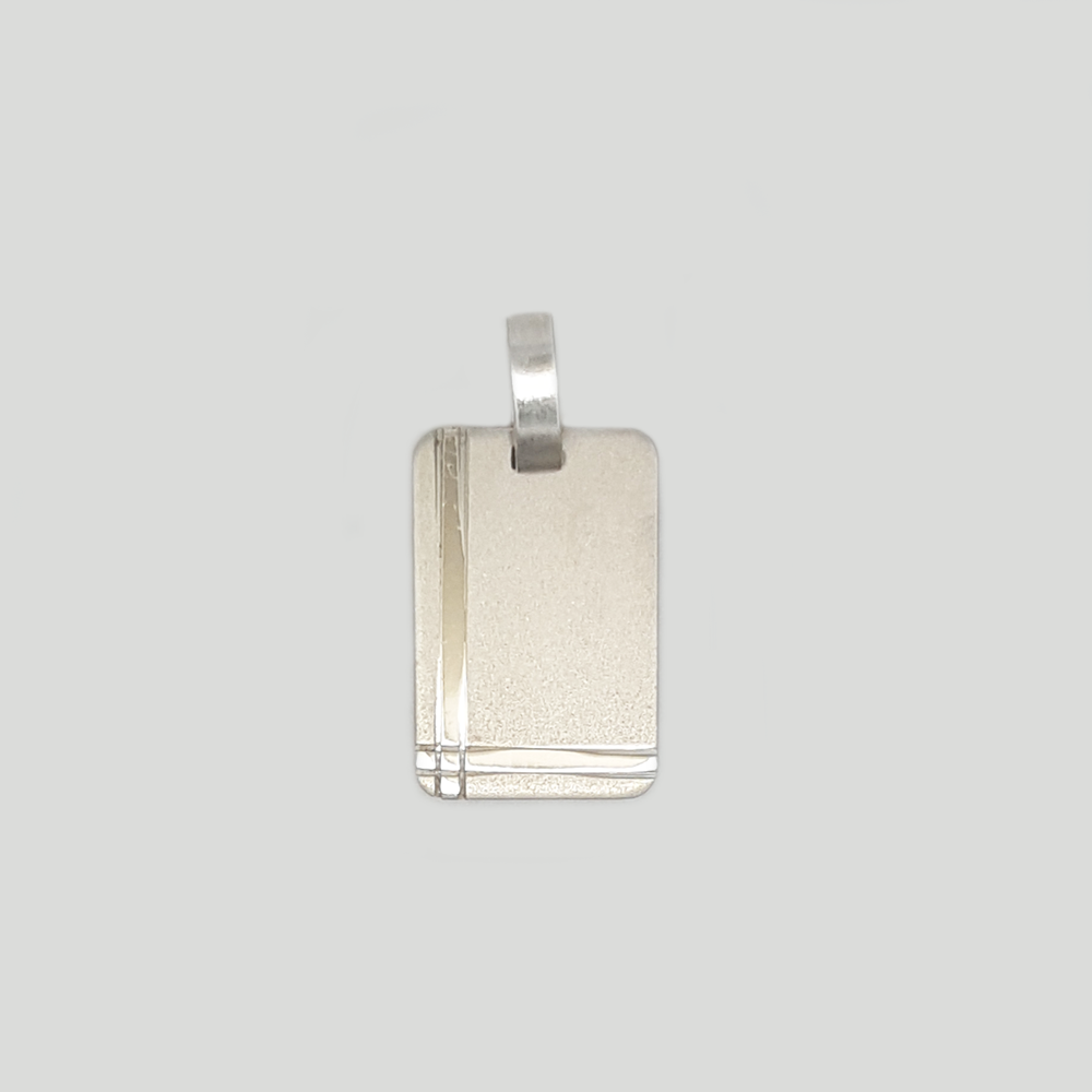Medal Pendant in Silver 925 for Women and Men