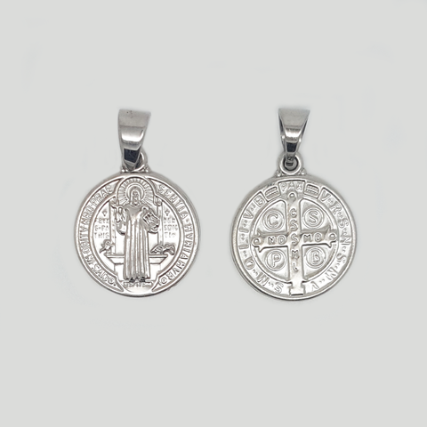 St Benedict Medal in Premium Stainless Steel