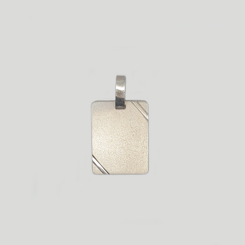 Medal Pendant for Women and Men in Silver 925