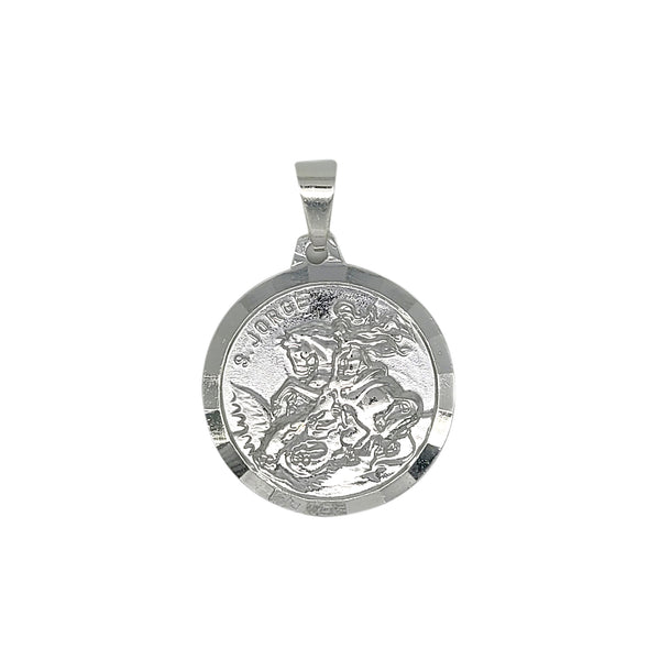 St George Medal in Yellow Gold Filled or Sterling Silver