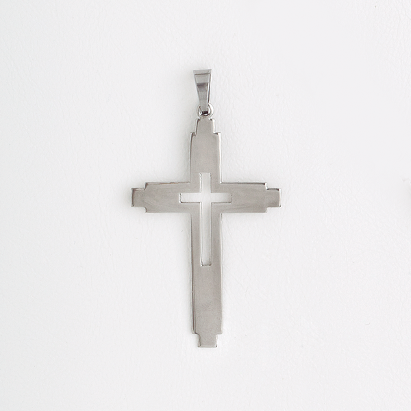 Cross Pendant Stainless Steel