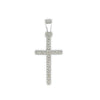 Cross Pendant Necklace in Sterling Silver or Gold Filled