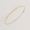 Cuff Bracelet for Women in Yellow Gold Filled, Stackable Bangle