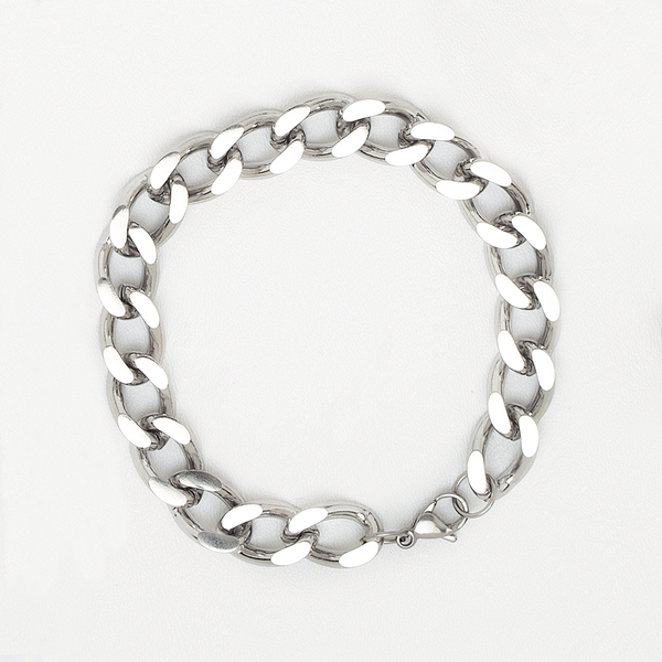 Big Link Chain Bracelet in Stainless Steel