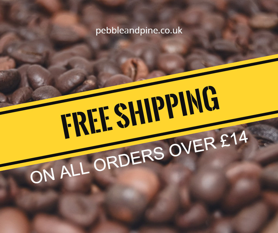 Free delivery on all coffee orders over £14