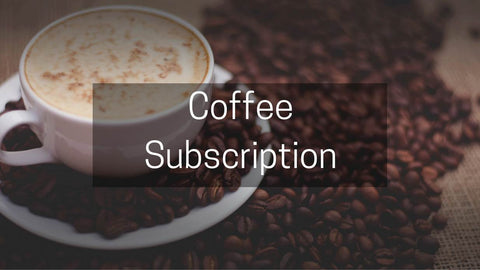 Coffee Subscriptions from Pebble and Pine