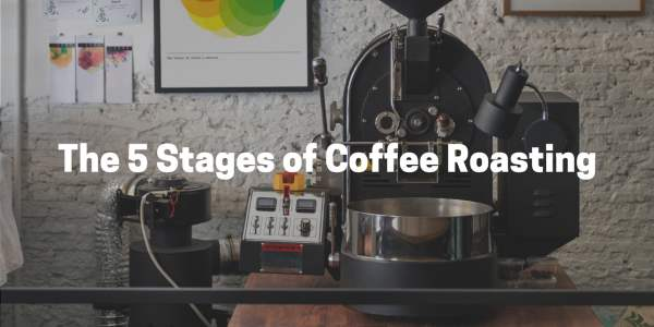 The five stages of coffee roasting