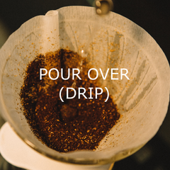 Pour over dripper brewing guide