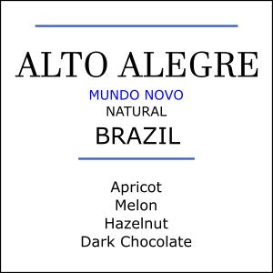 Brazil Alto Alegre Estate Mundo Novo Medium Roast Coffee