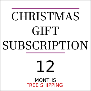 12 Months Christmas Gift Coffee Subscription