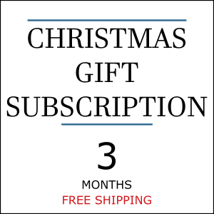Christmas Gift Coffee Subscription - 3 Months