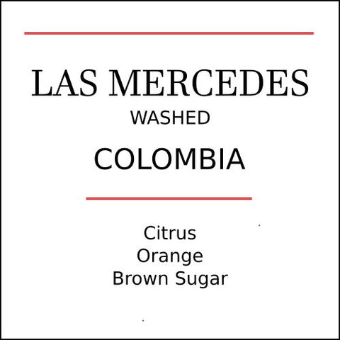 Colombia Finca Las Mercedes Medium Roast Coffee