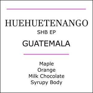 Guatemala Huehuetenango medium roasted coffee