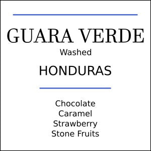 Honduras Guara Verde Medium Roast