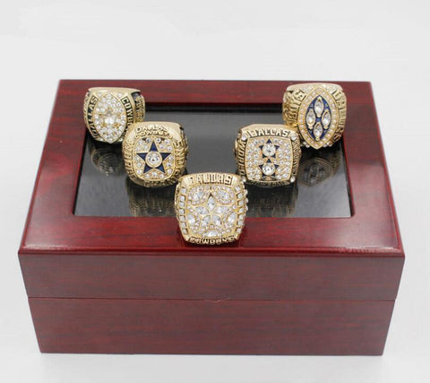 1971/1977/1992/1993/1995 REPLICA DALLAS COWBOYS SUPERBOWL CHAMPIONSHIP RINGS