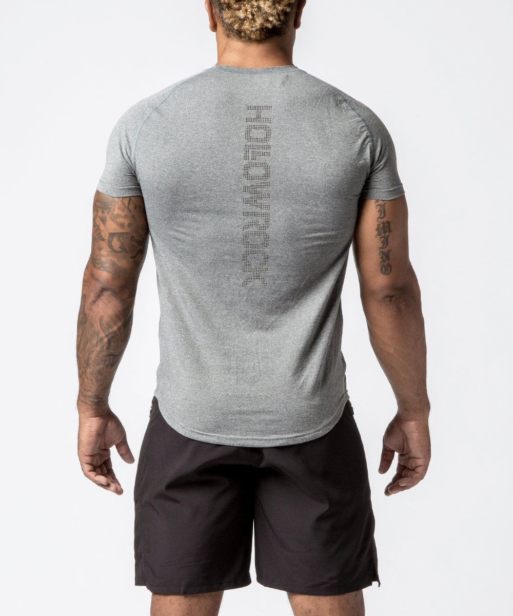 Men's Raglan Tech Training Tee - Back View