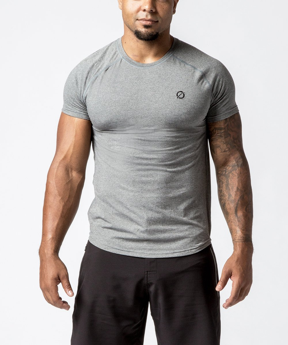 Men's Raglan Tech Training Tee - Front View