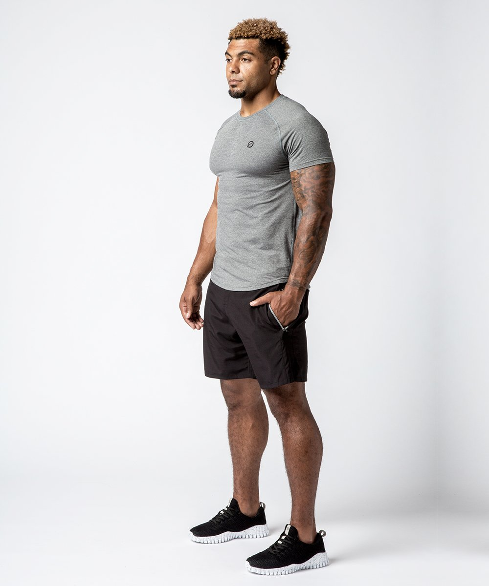 Men's Raglan Tech Training Tee - Lifestyle View