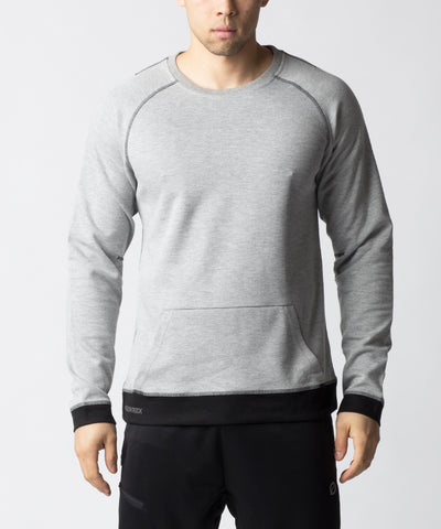 Effect-men-outerwear-crewneck-sweater-top-grey