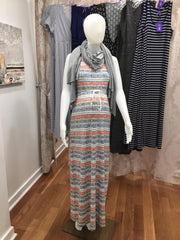 Seraphine nursing dress and nursing shawl at Swan Maternity