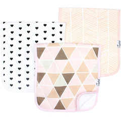 Blush Burp CLoth