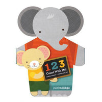 123 Count With Me-Book-Petit Collage-[color]-Swan Maternity | Baby-[size]