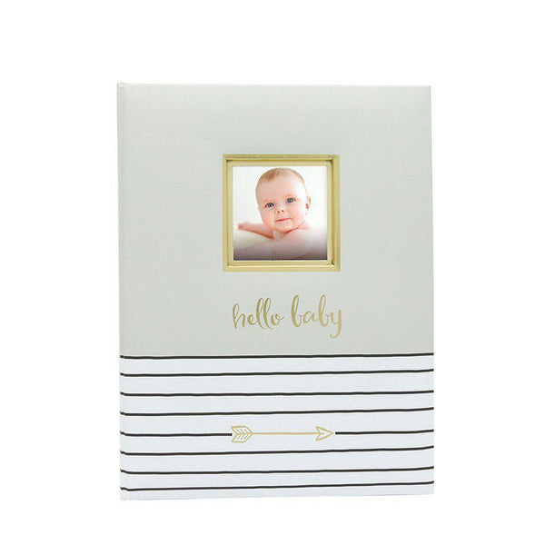 Baby Book - Stripes-Baby-Pearhead-[color]-Swan Maternity | Baby-[size]