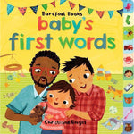 Baby's First Words Book-Book-Barefoot Books-[color]-Swan Maternity | Baby-[size]