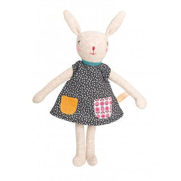 Camomille Rabbit Doll-Baby-Moulin Roty-[color]-Swan Maternity | Baby-[size]